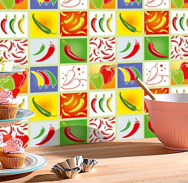 Adesivo Decorativo Peppers