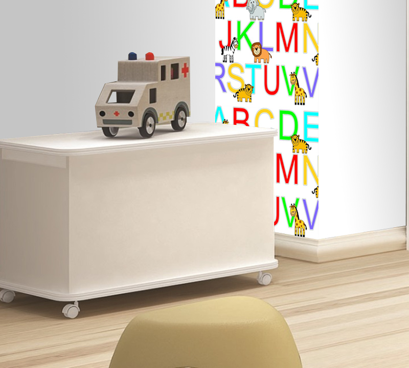 Adesivo Decorativo ABC