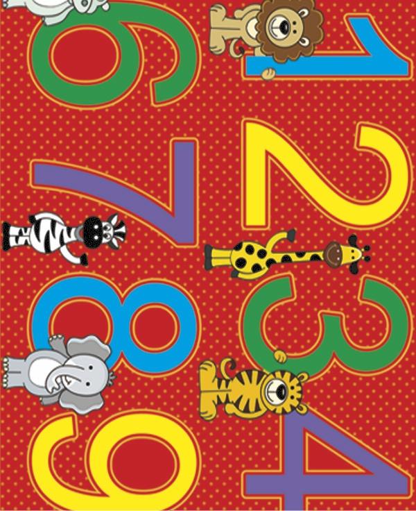 Adesivo Decorativo Números  - TaColado