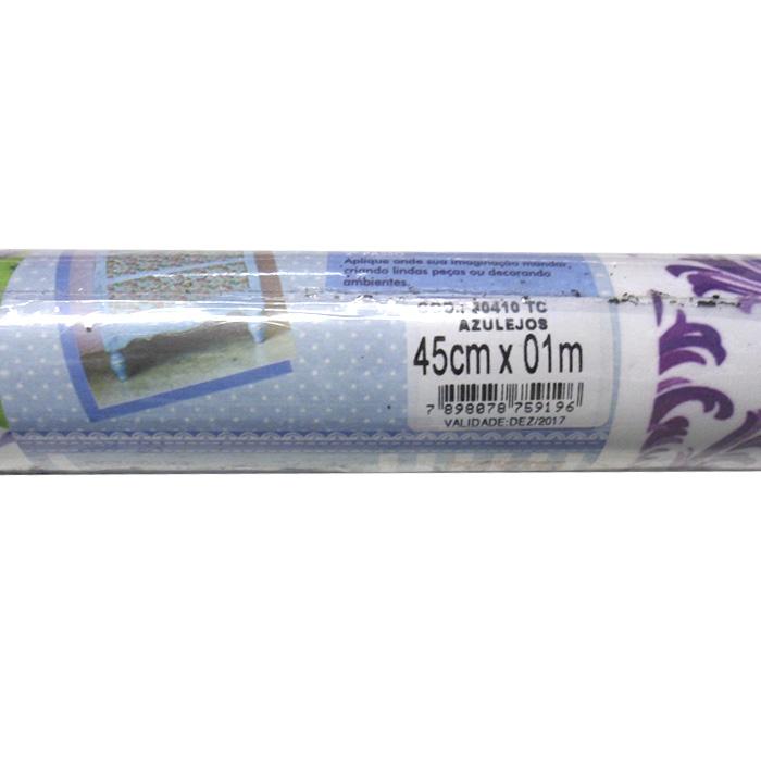 Tecido Adesivo Decorativo Arabesco Creme  - TaColado