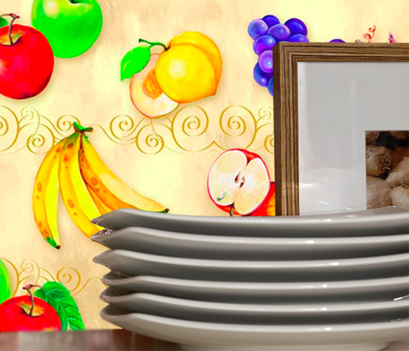 Adesivo Decorativo Fruits 6