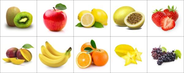 Adesivo Destacável Pop Art Frutas 02