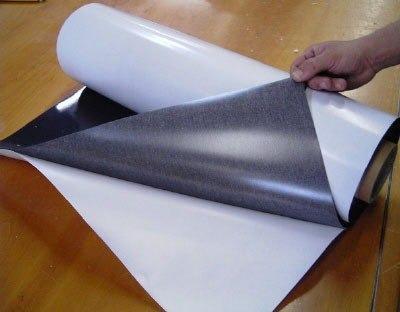 Manta Magnética 0,3mm Adesiva  - TaColado