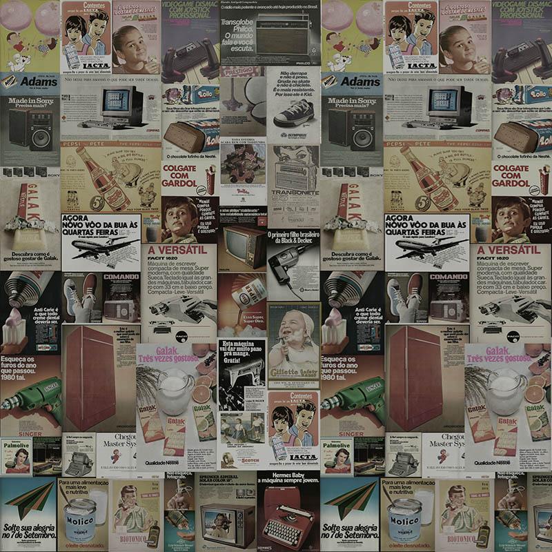 Papel de Parede Adesivo Revistas Vintage  - TaColado