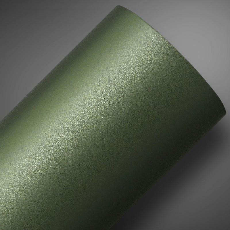 Adesivo Jateado Verde Militar  - TaColado