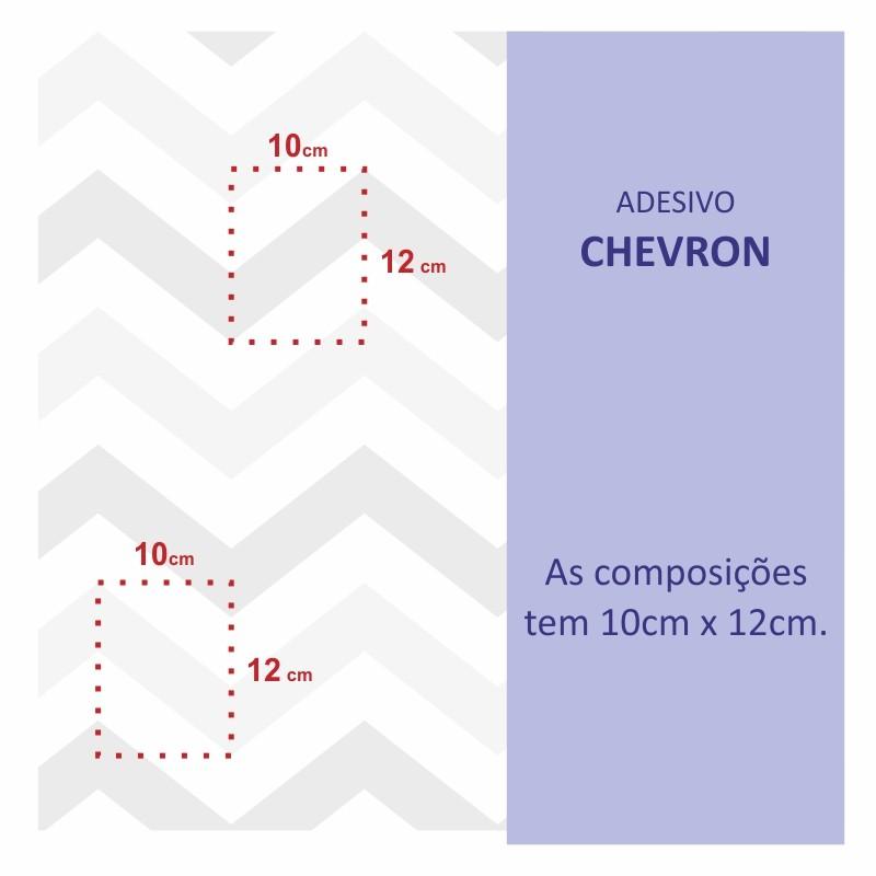 Papel de Parede Chevron Marrom  - TaColado