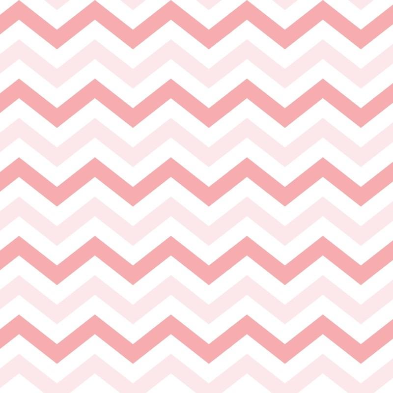 Apel de parede chevron rosa claro for Papel de pared dorado