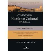 Comentário Histórico-Cultural Da Bíblia: Novo Testamento - Craig Keener