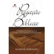 Pregação Bíblica   Haddon W. Robinson