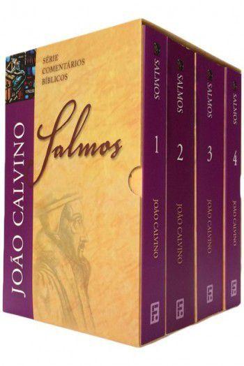 BOX: Salmos 1 a 4 - João Calvino