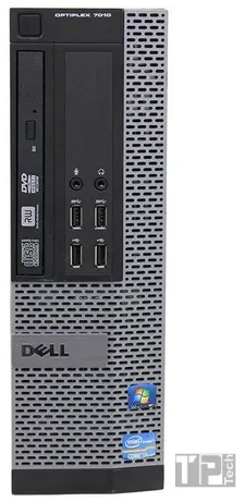 Desktop Dell Optiplex 7010 Mini i5-3TH/4Gb Ram/128Gb Ssd - Usado  - TP Tech Informática