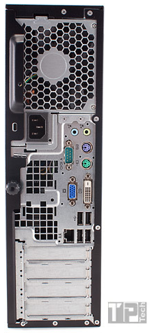 Desktop Hp Compaq 4000 Pro Small Intel Duo E7500/4Gb Ram - Usado   - TP Tech Informática