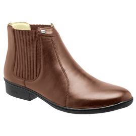 Bota Conforto Hb Agabe Boots - 401.000 - Pl Tabaco - Solado de Borracha - PVC