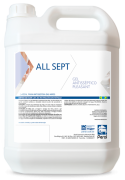 ALL SEPT - ÁLCOOL GEL 70º - 5 Litros - Perol