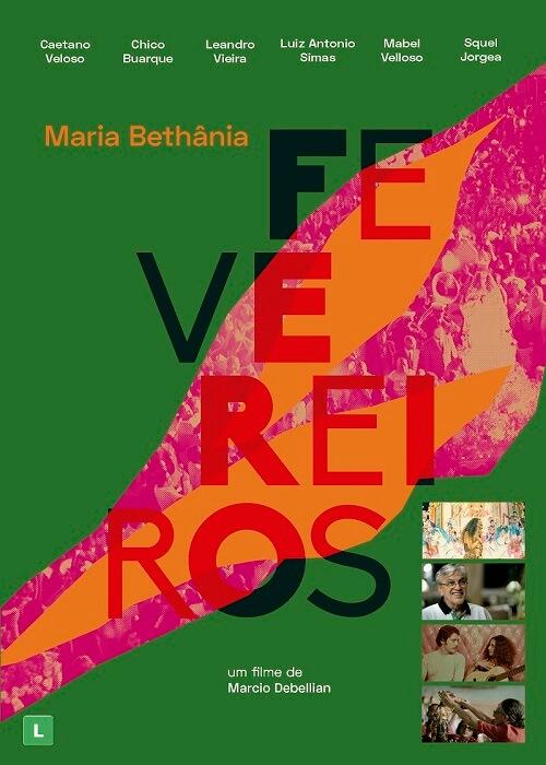 DVD - Maria Bethânia - Fevereiros
