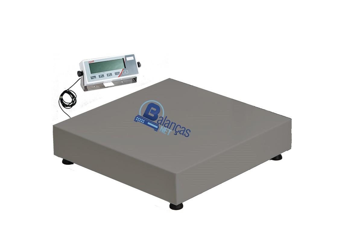 Balança Eletrônica 100kg X 20g Plataforma Carbono 40x40 Inmetro Marte