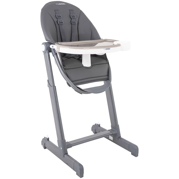 Cadeira De Alimentação P/ Bebê Reclinável Enjoy Kiddo Cinza