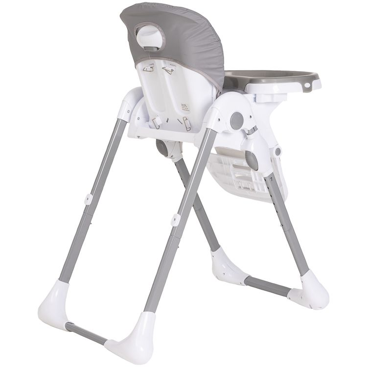 Cadeira De Alimentação P/ Bebê Reclinável Smile Kiddo Cinza
