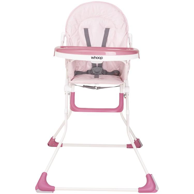 Cadeira De Alimentação Vectra Plus Bandeja E Cinto Whoop Rosa