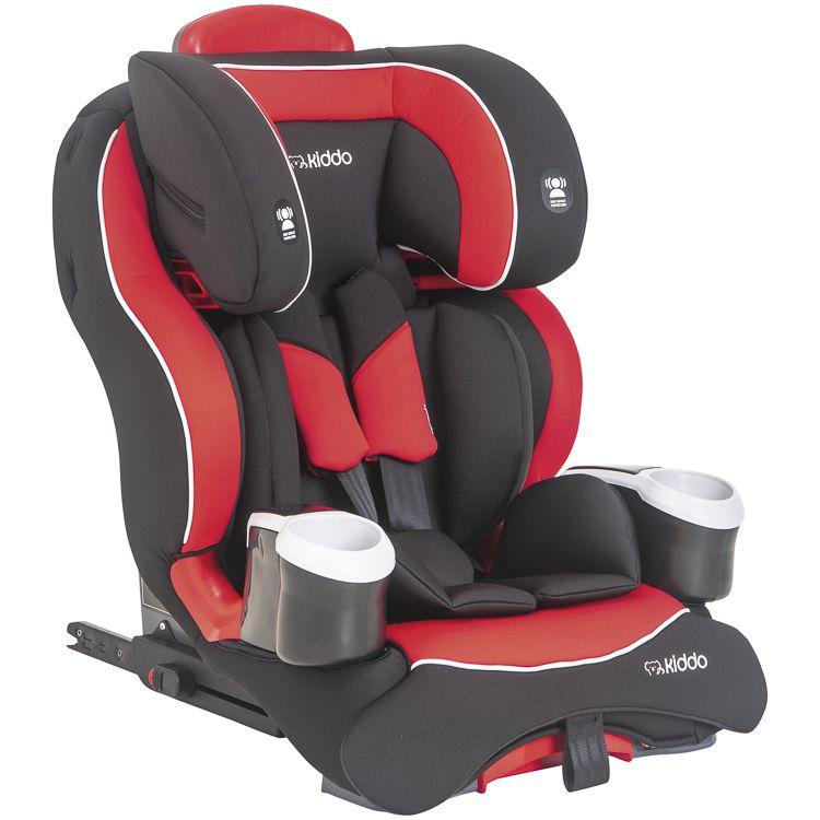 Cadeira de Auto Bebê Modi Isofix 9 À 36kg Inclinação Kiddo Vermelho