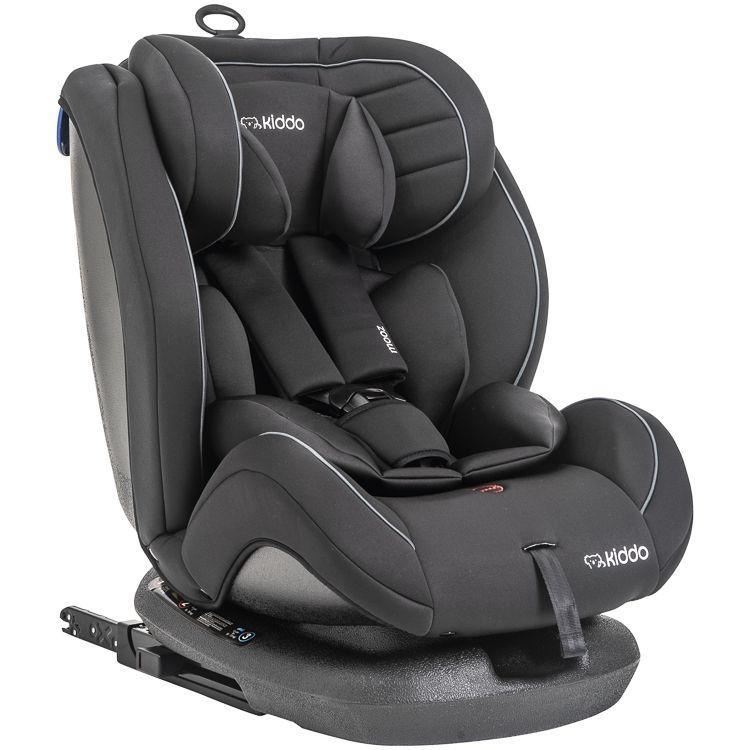Cadeira de Auto Poltrona Mooz 0 À 36kg Inclinação Kiddo Preto Inmetro
