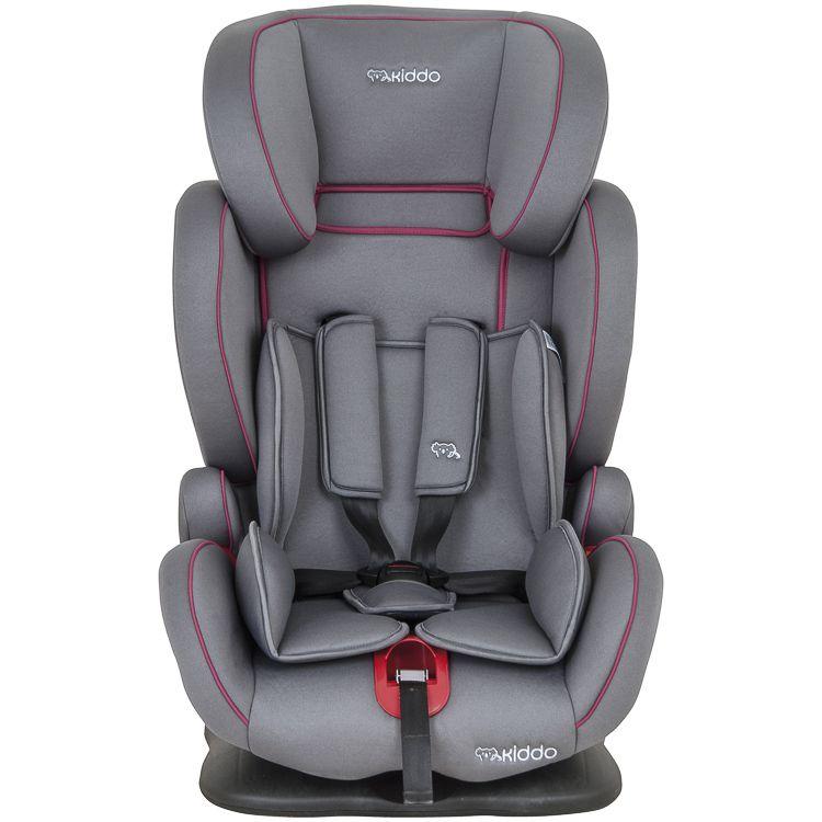 Cadeira de Auto Poltrona Pilot 9 À 36kg Inclinação Cinza c/ Rosa Inmetro