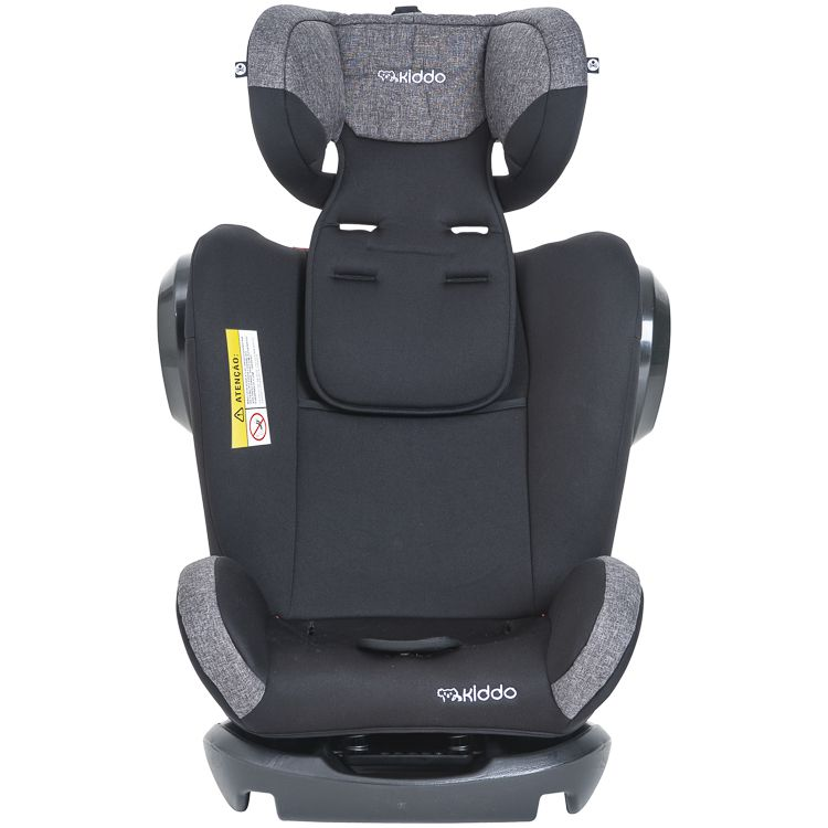 Cadeira de Auto Poltrona Stretch 0 À 36kg Inclinação Preto C/ Cinza Inmetro