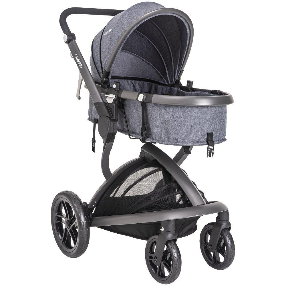 Carrinho de bebê Travel System Quantum Moisés Kiddo Marinho
