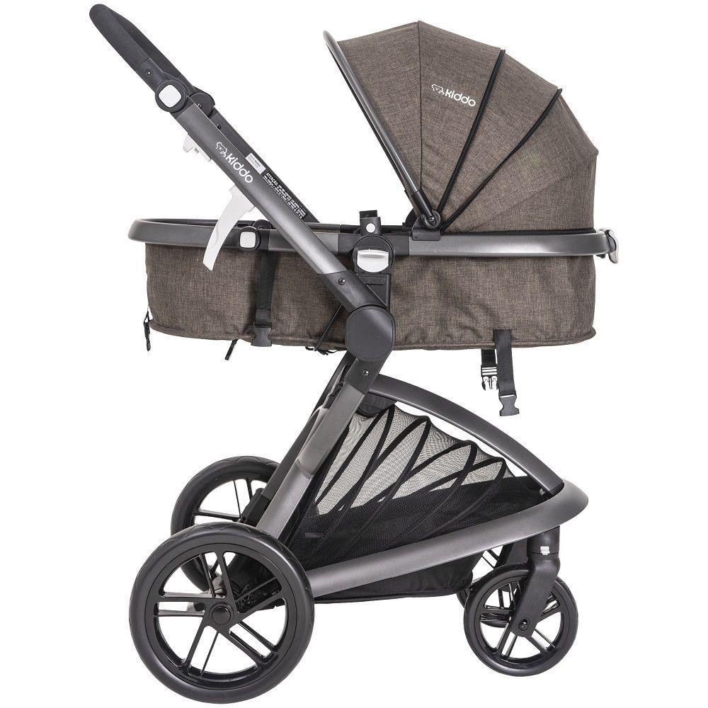 Carrinho de bebê Travel System Quantum Moisés Kiddo Marrom