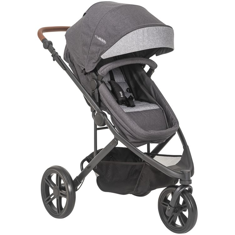 Carrinho Esportivo Travel System Trek + Bebê Conforto E Base