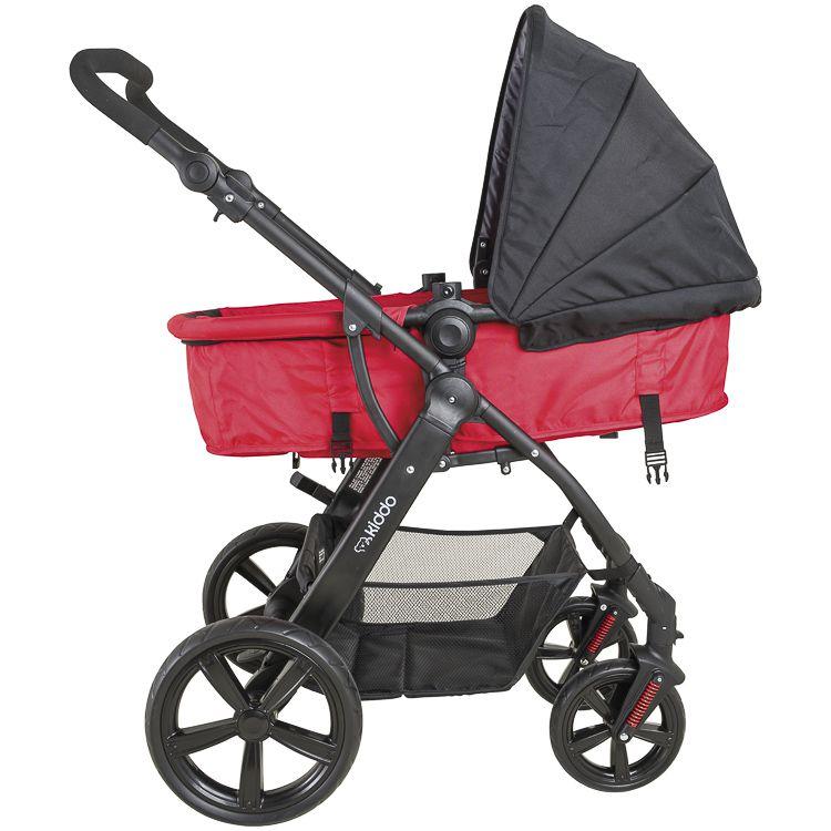 Carrinho Triciclo Galaxy Bebê Conforto Base Kiddo Inmetro Pv