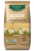 Açúcar Demerara Orgânico Organic 1kg