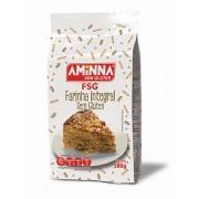Farinha Sem Gluten Integral Aminna Sem Lactose Sem Açucar