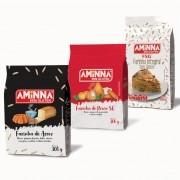 Kit De Farinhas Sem Glúten Aminna Multiuso Para Receitas
