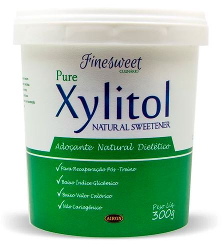 Adoçante Natural Xylitol 300g Finesweet