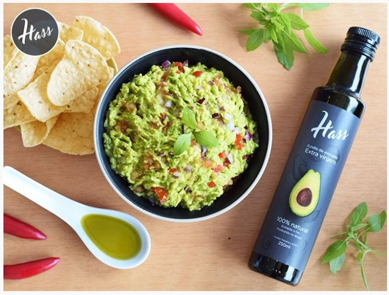 Azeite de Avocado Extra Virgem Hass 100% Natural 250ml