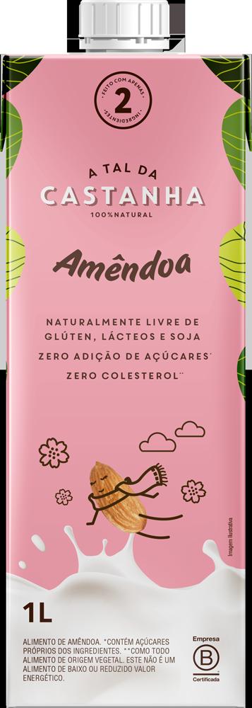Bebida de Amêndoas a Tal da Castanha Leite vegetal 1 litro