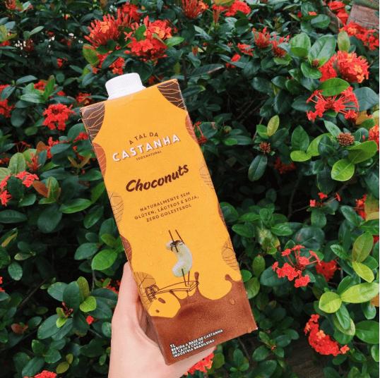 Bebida de Castanha e Cacau Choconuts A Tal da Castanha 1L