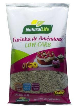 Farinha de Amêndoas Low Carb Natural Life 150g Pura