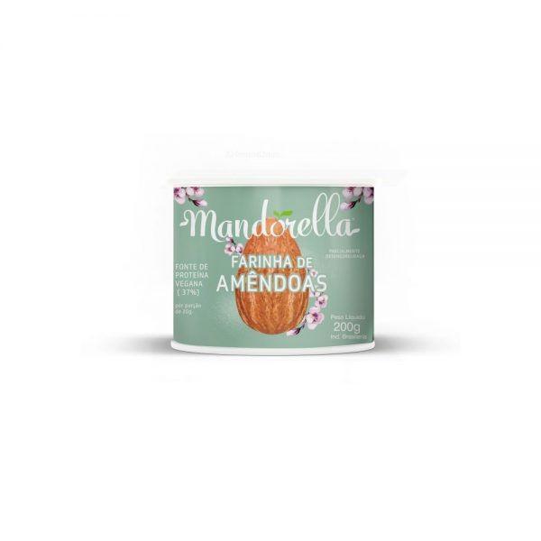 Farinha de Amendoas Mandorella200G Fonte de proteínas Vegana