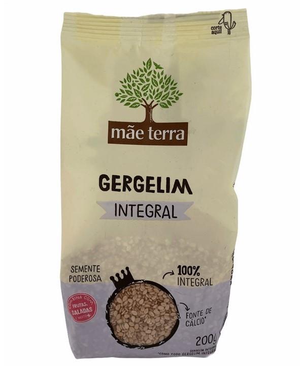 Gergelim Integral Mãe Terra Fonte de Cálcio