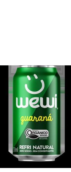 Guaraná Wewi Orgânico Refrigerante Natural Zero sódio
