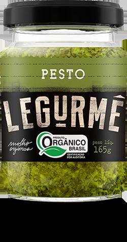 Molho Pesto Orgânico Legurmê Vegano Ótimo para Massas e Pães