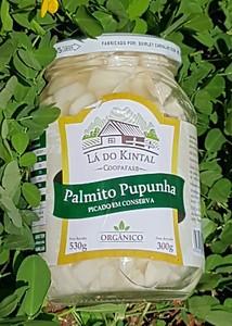 Palmito pupunha Picado em conserva Orgânico Lá do Kintal