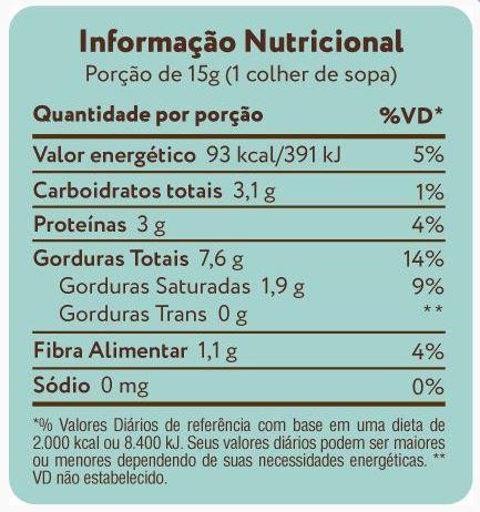 Pasta de Castanha de Caju e Coco Orgânico A Tal da Castanha
