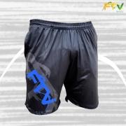 Bermudinha com Bolso FTV Basics 2021 Preto com Azul