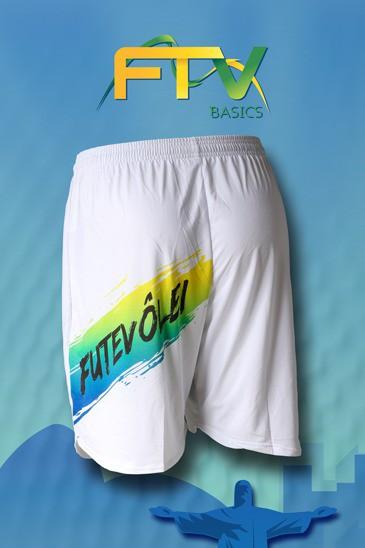 Shorts FTV Basics BRANCO