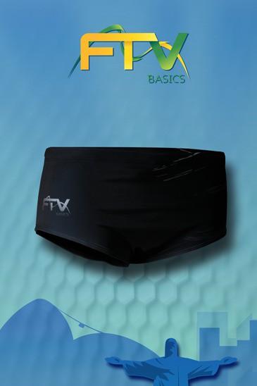 Sunga FTV Basics Preta cinza
