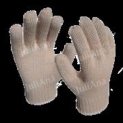 Luva de Segurança Tricotada Crua - 6 fios