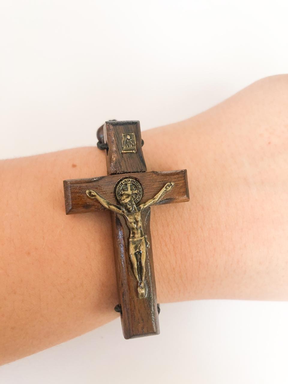 Pulseira Dezena - Cruz São Bento